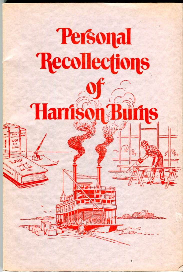 Image for Personal Recollections of Harrison Burns as written in 1907 (Indiana Historical Society Publications, volume 25 #2)