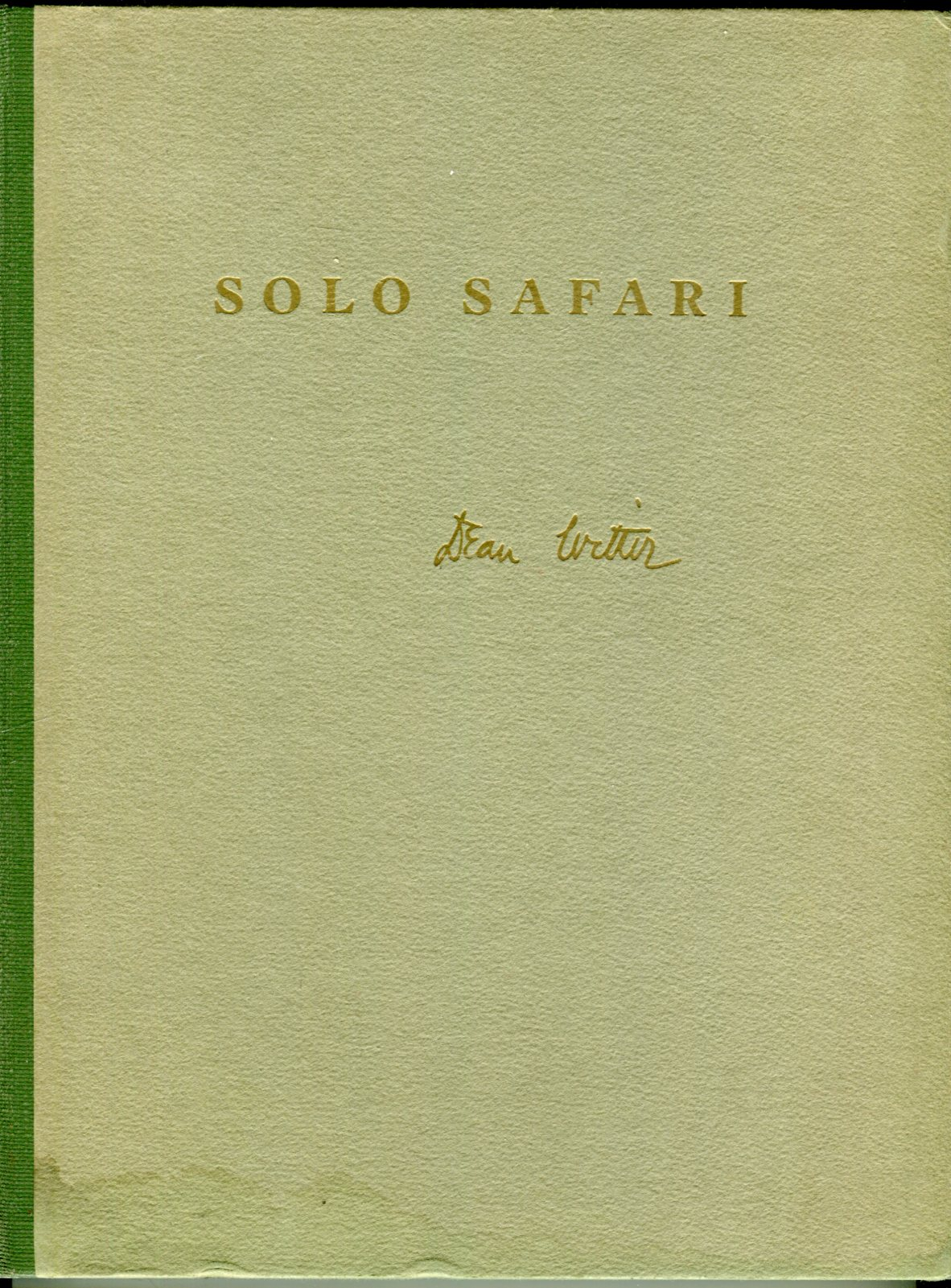 Image for Solo Safari