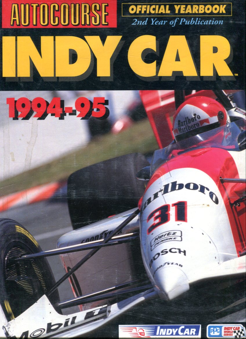 Image for Autocourse: INDY Car 1994-95 Official Yearbook