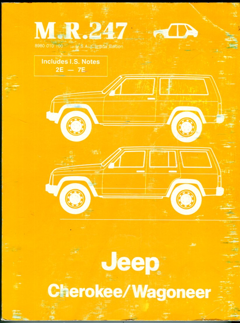 Image for Jeep Cherokee/Wagoneer Workshop Manual (M.R. 247): Bodywork, Wagoneer '75, Cherokee '77- '78