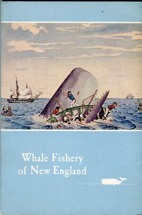 Image for Whale Fishery of New England: an account, with illustrations & some interesting & amusing anecdotes, of the rise & fall of an industry which has made New England famous throughout the world