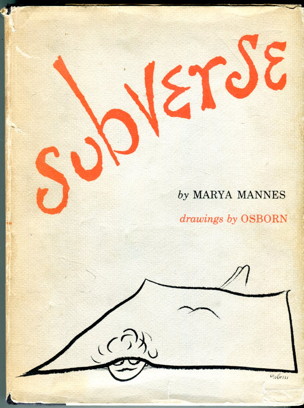 Image for Subverse: Rhymes for Our Times