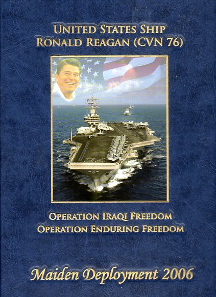Image for United States Ship Ronald Reagan (CVN 76) Maiden Deployment: Volume 2, Operations Iraqi Freedom, Operation Enduring Freedom