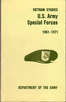 Image for U.S. Army Special Forces 1961- 1971 (Vietnam Studies series)