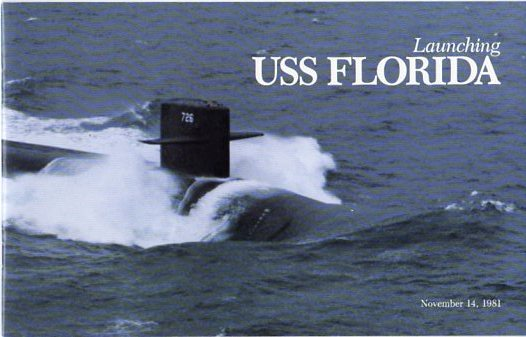Image for Launching Ceremony Program for USS Florida, November 14, 1981