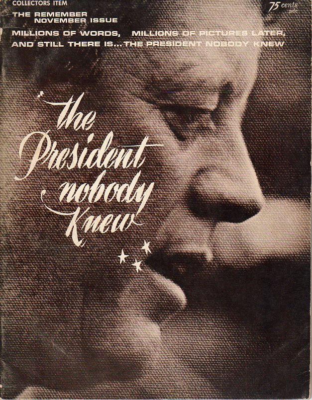 Image for The President Nobody Knew, Volume 1, No. 1 (The November Remember Issue)
