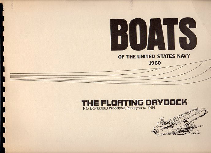 Image for Boats of the United States Navy 1960