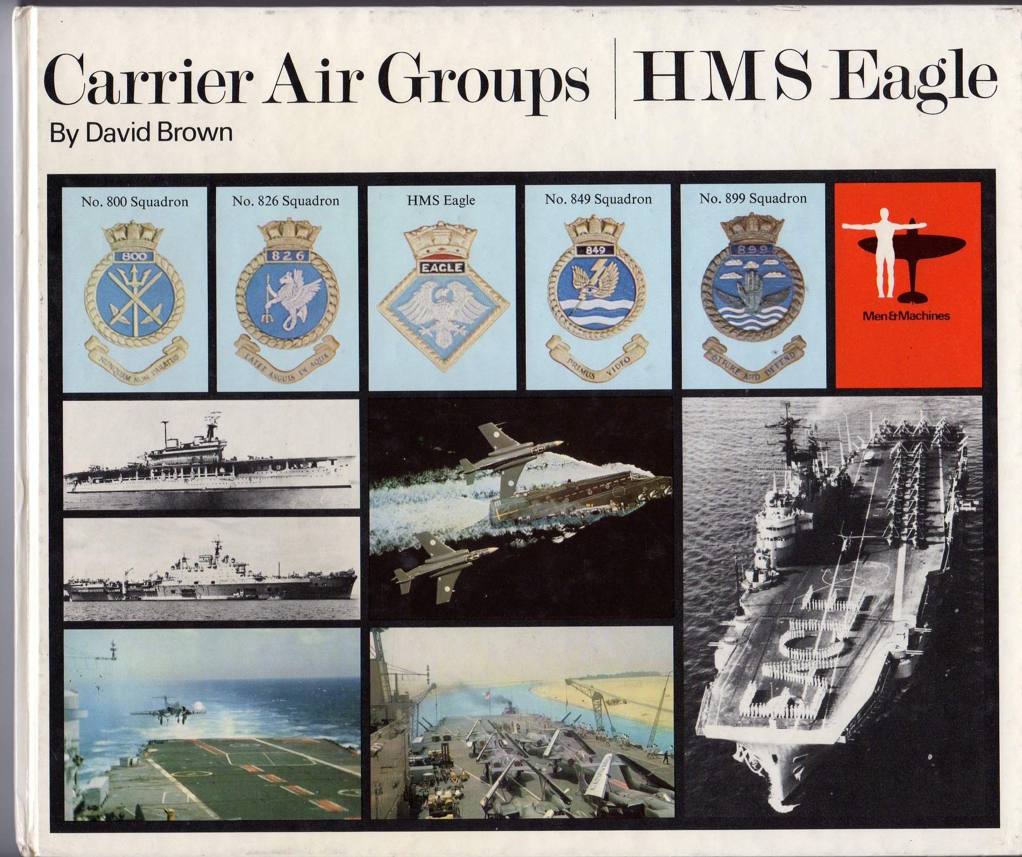 Image for Carrier Air Groups / HMS Eagle, Vol. 1