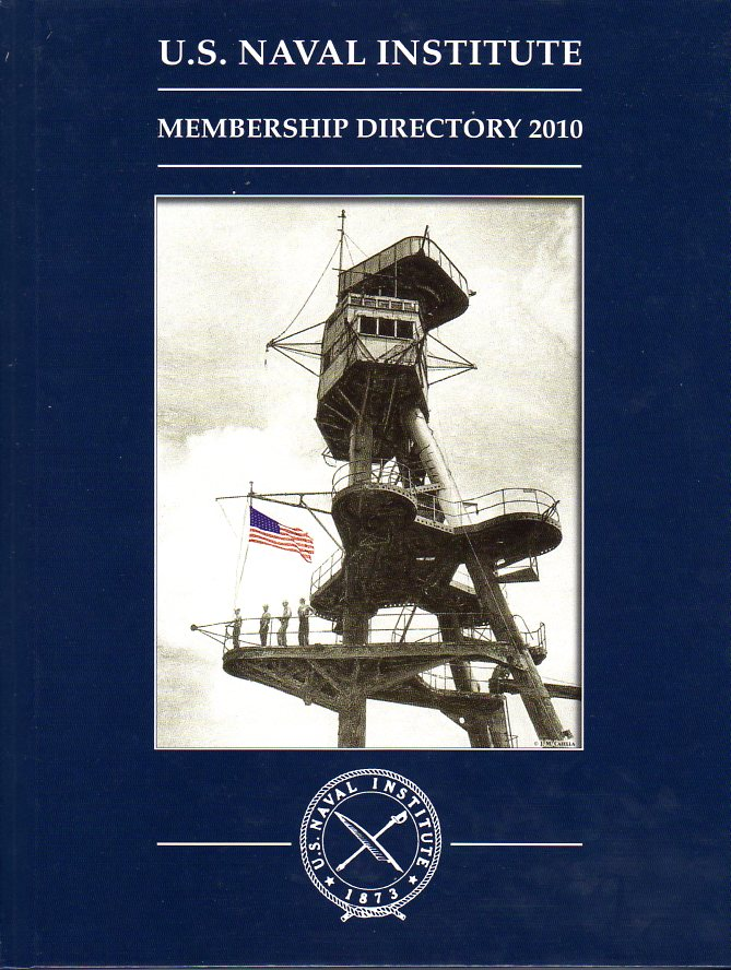 Image for U.S. Naval Institute Membership Directory 2010