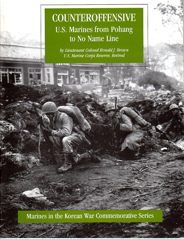 Image for Counteroffensive: U.S. Marines from Pohang to No Name Line (Marines in the Korean War Commemorative Series)