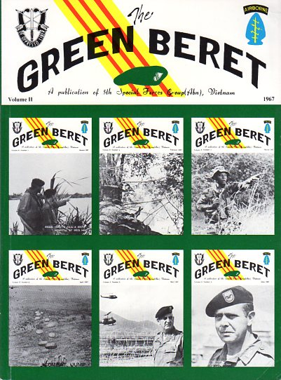 Image for The Green Beret: A Publication of 5th Special Forces Group (Abn), Vietnam 1966- 1970 (5 Volumes, Complete)