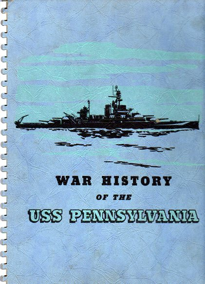 Image for War History of the USS Pennsylvania (BB 38)
