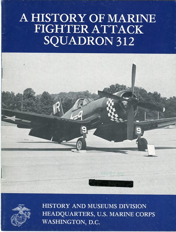 Image for A History of Marine Fighter Attack Squadron 312