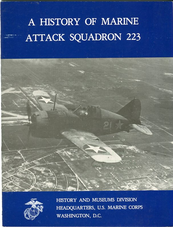 Image for A History of Marine Attack Squadron 223