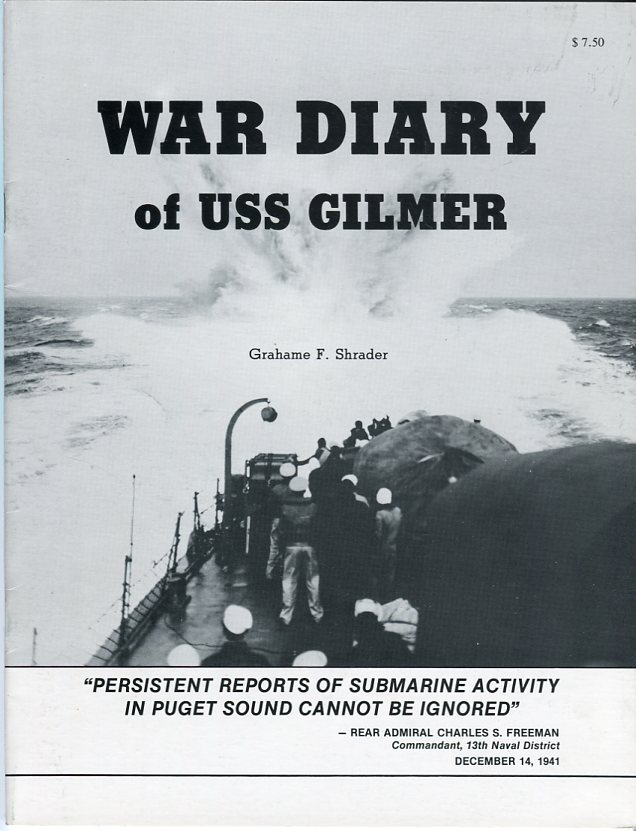 Image for War Diary of USS Gilmer, December 1941 - January 1942