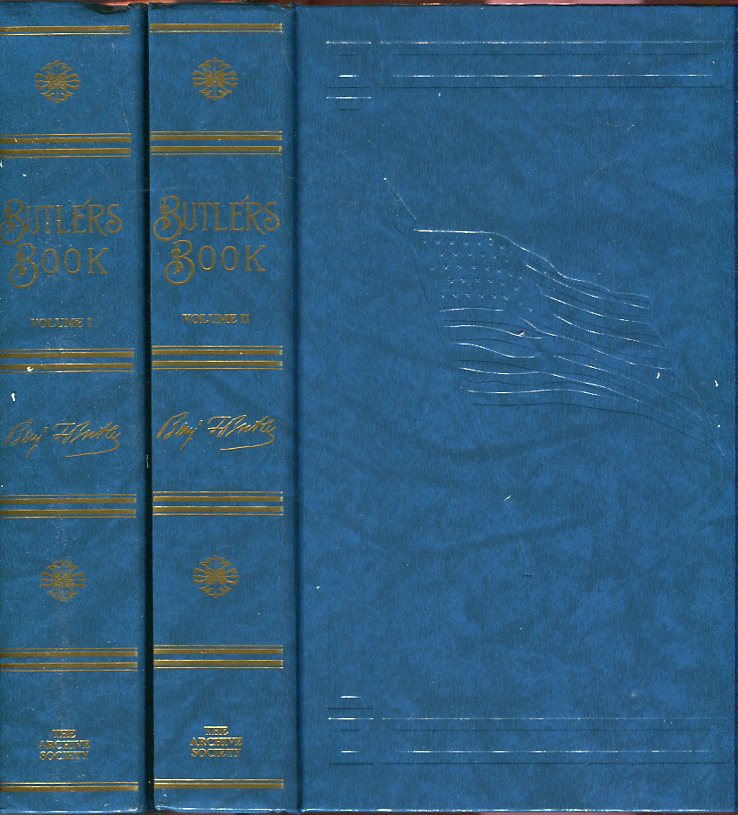 Image for Butler's Book (2 volumes): A Review of His Legal, Political and Military Career