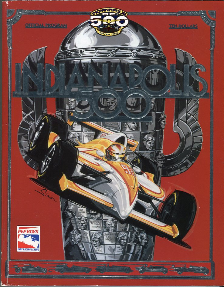 Image for Indianapolis 500: The Eighty Second, May 24, 1998 Official Program