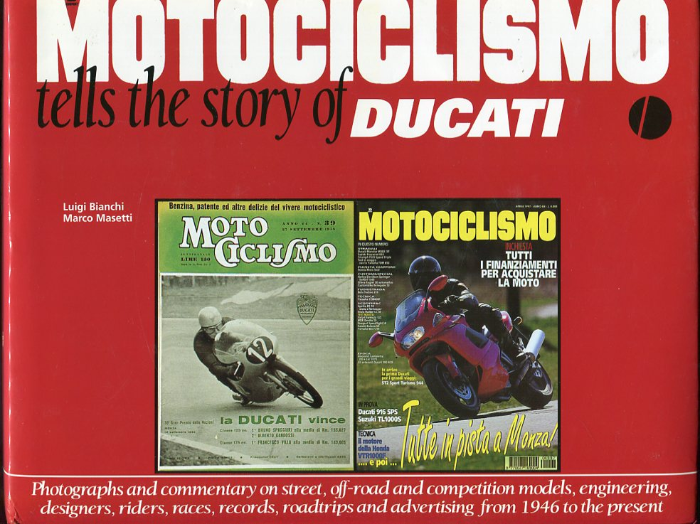Image for Motociclismo Tells the Story of Ducati