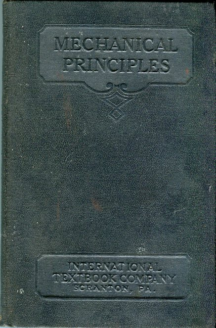 Image for Mechanical Principles, Parts 1- 2 (Volume 348)
