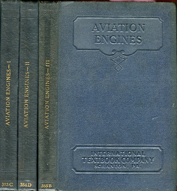 Image for Aviation Engines I, II, III (Volumes 353C, 354D, 355B)