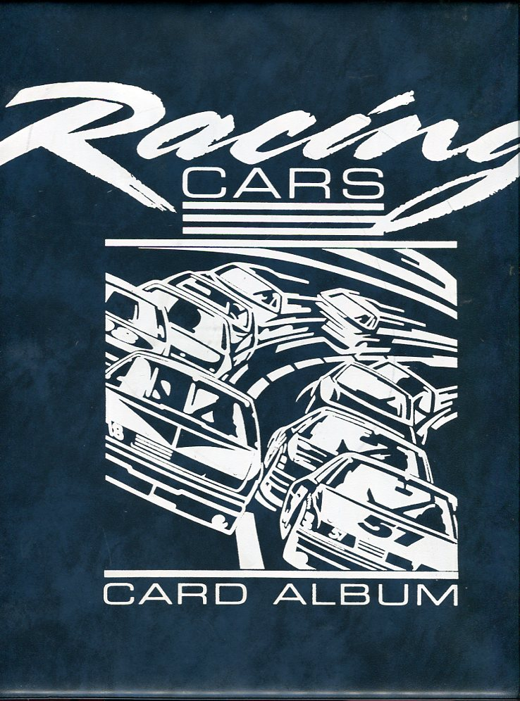 Image for Racing Cars Card Album