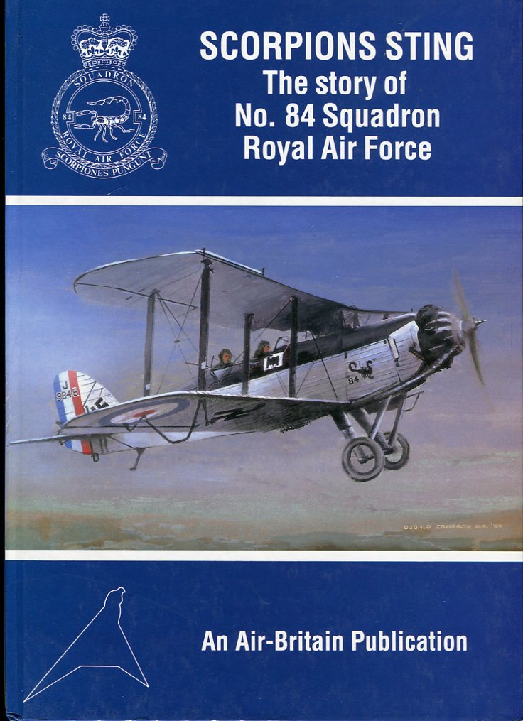 Image for Scorpions Sting: The Story of No. 84 Squadron Royal Air Force 1917-1992