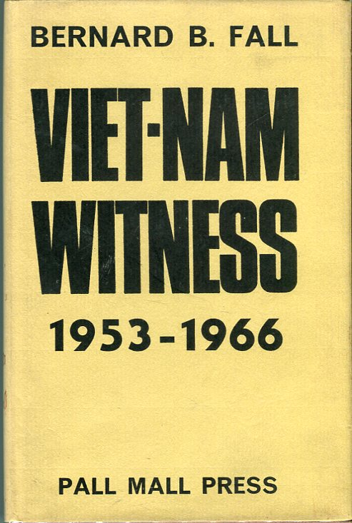 Image for Viet- Nam Witness 1953- 66