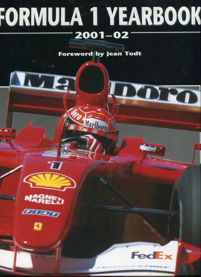 Image for Formula 1 Yearbook 2001- 02
