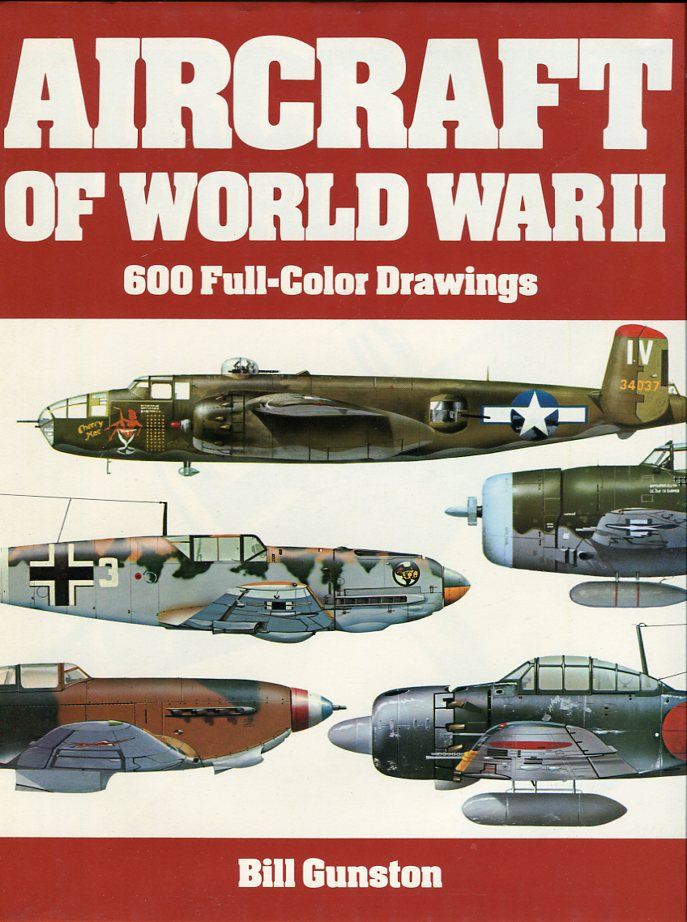 Image for Aircraft of World War II: 600 Full Color Drawings