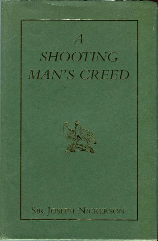 Image for A Shooting Man's Creed