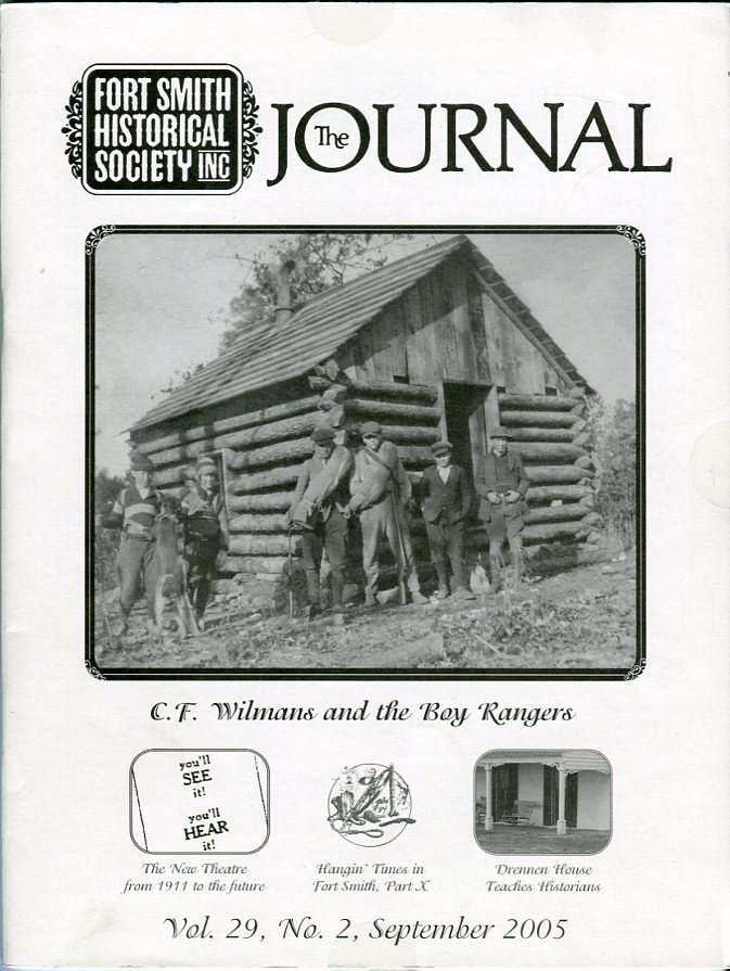 Image for Fort Smith Historical Society Inc.: The Journal, Vol. 29, No. 2, September 2005
