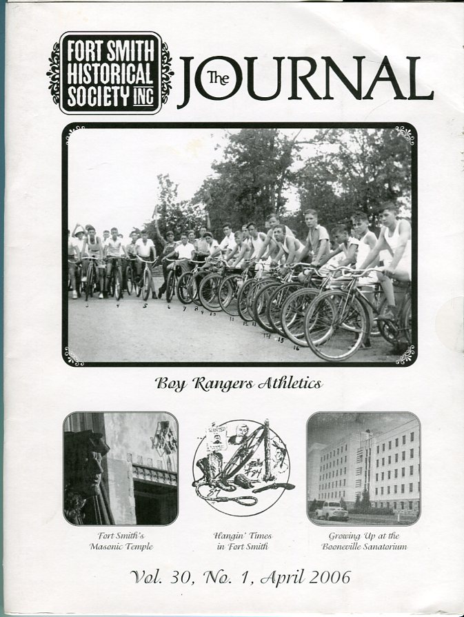 Image for Fort Smith Historical Society Inc.: The Journal, Vol. 30, No. 1, April 2006