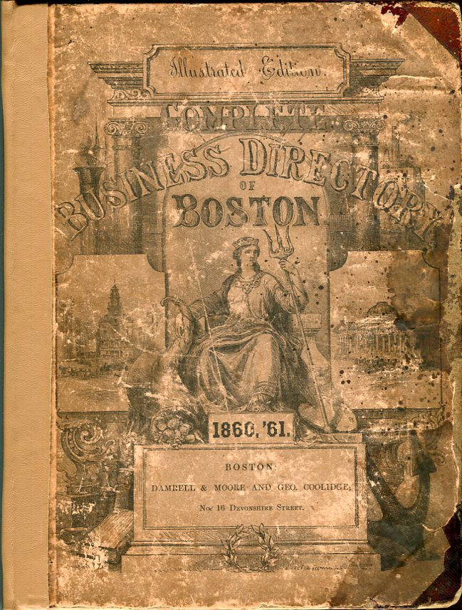 Image for Sketches and Business Directory of Boston and Its Vicinity for 1860 and 1861