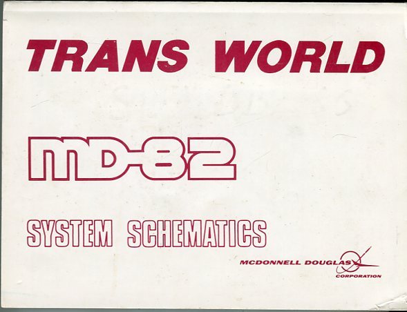 Image for Trans World Airlines MD- 82 System Schematics
