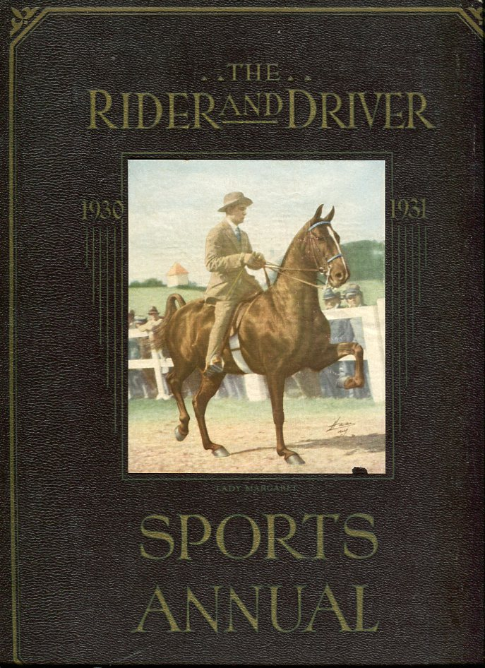 Image for The Rider and Driver Sports Annual 1930- 1931