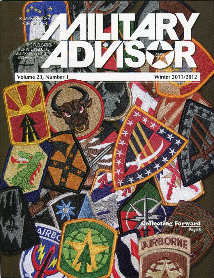 Image for The Military Advisor: The Publication for International Military Hobbyists and Historians, Volume 23, #1, Winter 2011/2012