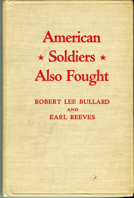 Image for American Soldiers Also Fought