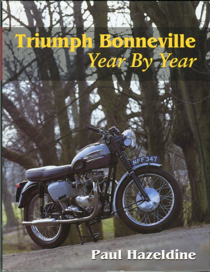 Image for Triumph Bonneville Year by Year (Crowood MotoClassics Series)