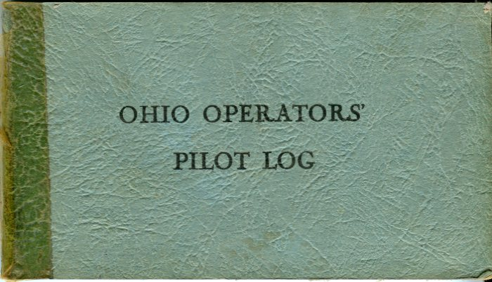 Image for Ohio Operator's Pilot Log