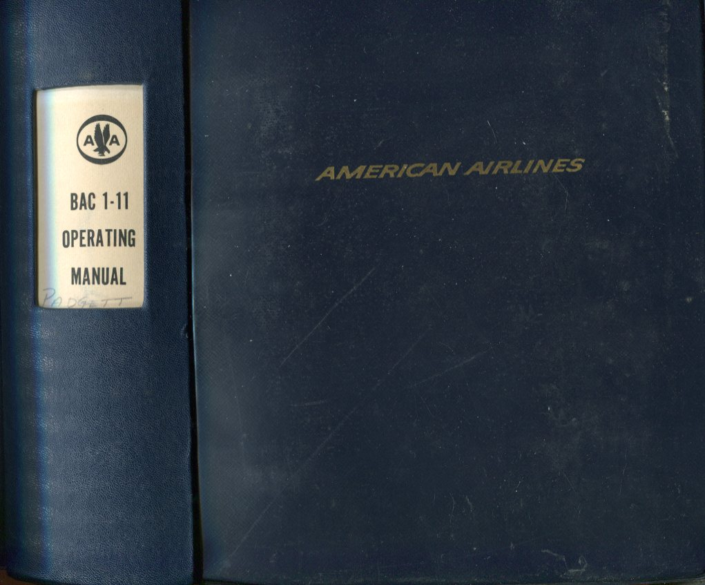 Image for American Airlines BAC 1- 11 Operating Manual