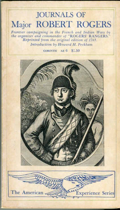Image for Journals of Major Robert Rogers: Frontier Campaigning in the French and Indian Wars (American Experience Series)