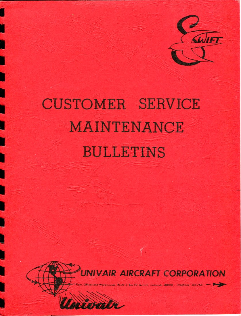 Image for Swift Customer Service Maintenance Bulletins