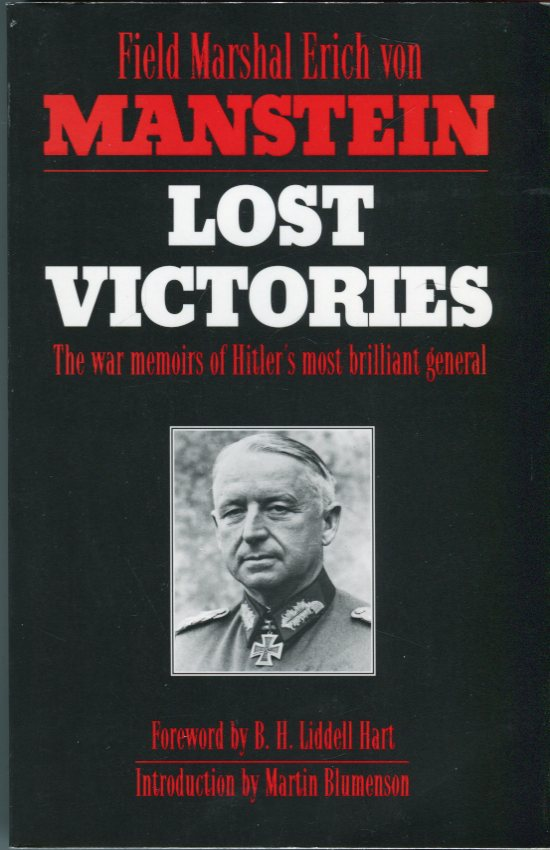 Image for Lost Victories: The War Memoirs of Hitler's Most Brilliant General