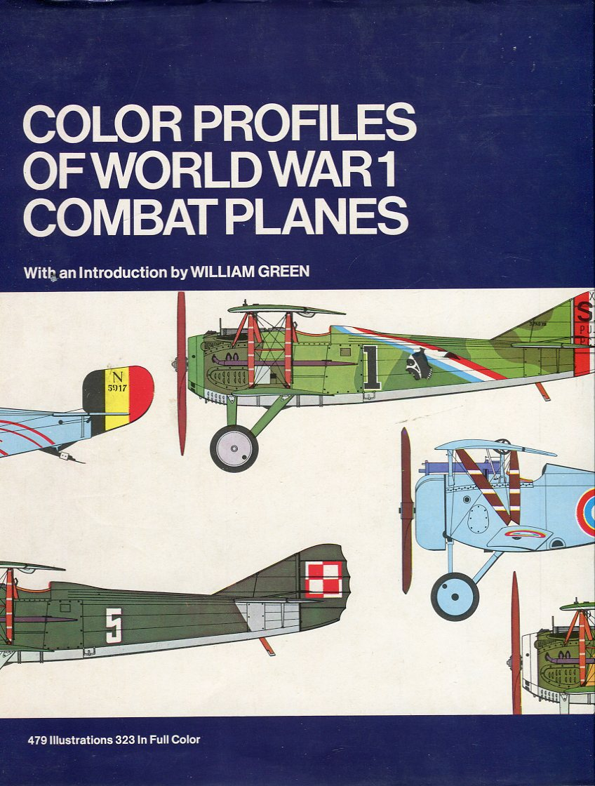 Image for Color Profiles of World War I Combat Planes