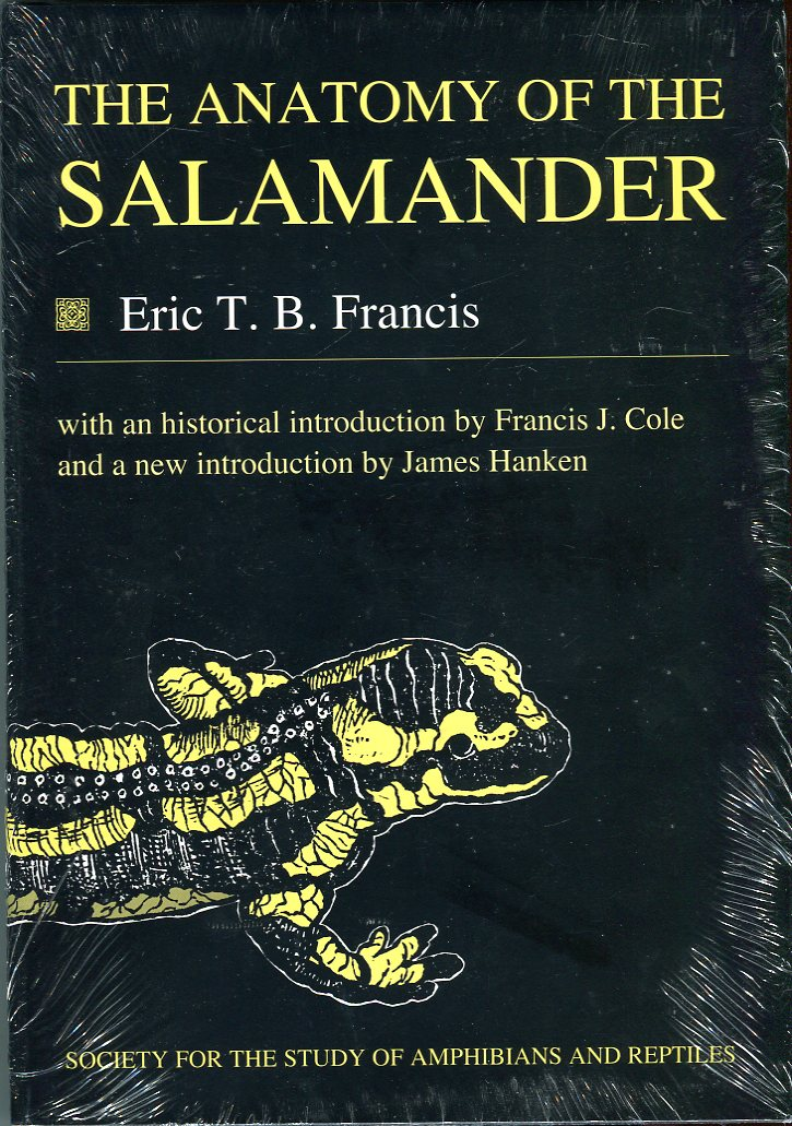 Image for The Anatomy of a Salamander (Facsimile Reprints in Herpetology Series)