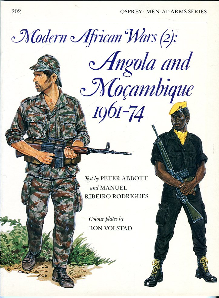 Image for Modern African War (2): Angola and Mozambique 1961- 74 (Osprey Men at Arms Series No. 202)