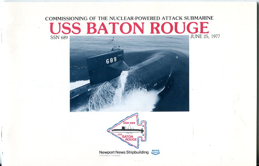 Image for Commissioning of the Nuclear Powered Attack Submarine USS Baton Rouge (SSN 689), June 25, 1977