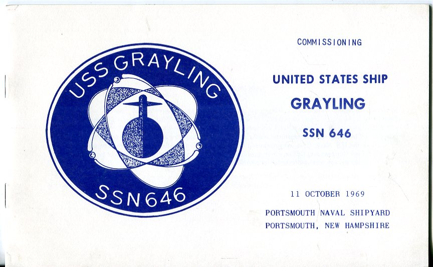 Image for Commissioning United States Ship Grayling SSN 646, 11 October 1969