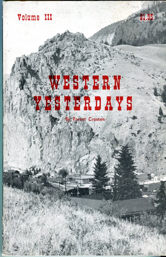 Image for Western Yesterdays vol. III