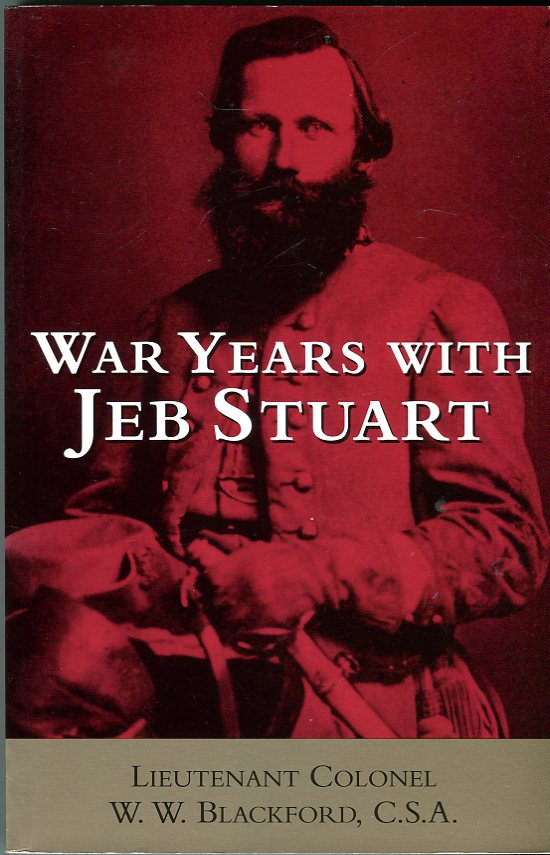 Image for War Years with Jeb Stuart